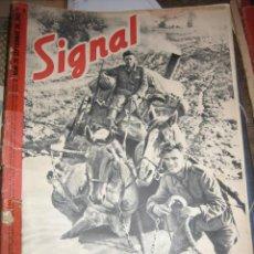 Militaria: REVISTA SIGNAL Nº 18, SEGUNDO NÚMERO DE SEPTIEMBRE, 1941. Lote 5046342