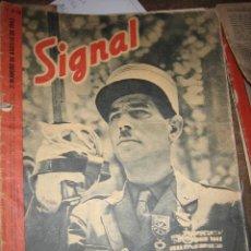 Militaria: REVISTA SIGNAL Nº 16, SEGUNDO NÚMERO DE AGOSTO DE 1943. Lote 7060948