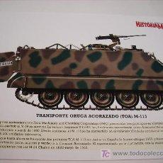 Militaria: LAMINA VEHICULO MILITAR. Lote 5584416