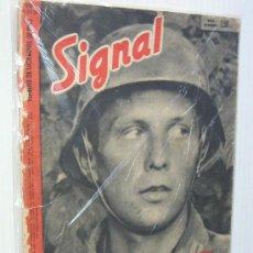 Militaria: SIGNAL Nº 23-24 1942 ED. SP. GERMAN MAGAZINE - REVISTA ALEMANA, ESPAÑOLA / SPANISH. NUMERO DOBLE . Lote 12313595
