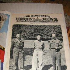 Militaria: THE ILLUSTRATED LONDON NEWS WWII - II GUERRA MUNDIAL (EN INGLES) 1945 - CON FOTOS, DIBUJOS, ESQUEMAS. Lote 7837430