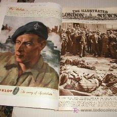 Militaria: THE ILLUSTRATED LONDON NEWS WWII - II GUERRA MUNDIAL (EN INGLES) 1945 - CON FOTOS, DIBUJOS, ESQUEMAS. Lote 11931917
