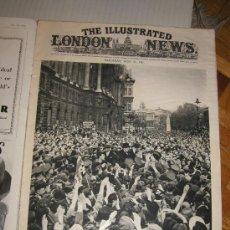 Militaria: THE ILLUSTRATED LONDON NEWS WWII - II GUERRA MUNDIAL (EN INGLES) 1945 - CON FOTOS, DIBUJOS, ESQUEMAS. Lote 114239639