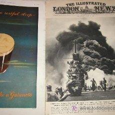 Militaria: THE ILLUSTRATED LONDON NEWS WWII - II GUERRA MUNDIAL (EN INGLES) 1945 - CON FOTOS, DIBUJOS, ESQUEMAS. Lote 13039604