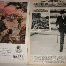 Militaria: THE ILLUSTRATED LONDON NEWS WWII - II GUERRA MUNDIAL (EN INGLES) 1945 - CON FOTOS, DIBUJOS, ESQUEMAS. Lote 7837621