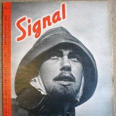 Military - REVISTA SIGNAL - Nº 15 1940 D - EDICION ALEMANA - SEGUNDA GUERRA MUNDIAL PROPAGANDA - 27600779
