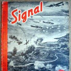 Militaria: REVISTA SIGNAL - Nº 11 1940 F - EDICION FRANCESA - SEGUNDA GUERRA MUNDIAL PROPAGANDA. Lote 27600762