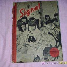 Militaria: REVISTA SIGNAL ALEMANA (ESPAÑOL) 2 Nº DE FEBRERO DE 1942. Lote 24224123