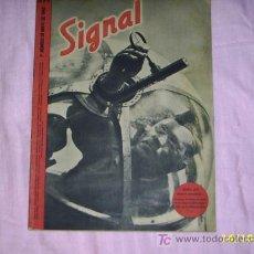 Militaria: REVISTA SIGNAL, ALEMANA (ESPAÑOL) ,-1º Nº DEL 5 DE 1942. Lote 24177060