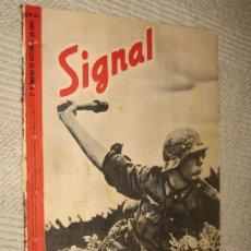 Militaria: SIGNAL Nº 20 OCTUBRE 1941 SP, EN ESPAÑOL, REPORTAJE EN COLOR ESCUELA ESPAÑOLA EQUITACIÓN DE VIENA. Lote 24839521