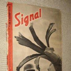 Militaria: SIGNAL Nº 21 NOVIEMBRE 1941 SP, EN ESPAÑOL, . Lote 24839522