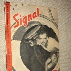Militaria: SIGNAL Nº 19 OCTUBRE 1941 SP, EN ESPAÑOL, . Lote 24839523