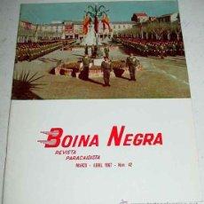 Militaria: REVISTA BOINA NEGRA Nº 42 - MARZO - ABRIL 1967 - PARACAIDISTAS - 50 PAG - CON MUCHAS ILUSTRACIONES -. Lote 8644408