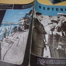 Militaria: REVISTA NEPTUNO EN PORTUGUES - SEGUNDA GUERRA MUNDIAL - PN 31 OCTUBRE 1942 . Lote 8737341