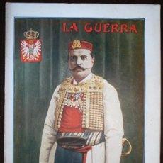 Militaria: LA GUERRA ILUSTRADA Nº 60 - PORTADA GENERAL VUROTITCH - 1º GUERRA MUNDIAL. Lote 9976777