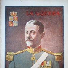 Militaria: LA GUERRA ILUSTRADA Nº 78 - PORTADA GENERAL AVERESCO- 1º GUERRA MUNDIAL. Lote 9941017