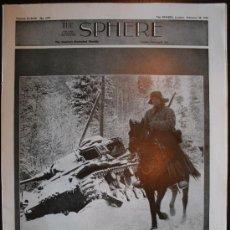Militaria: THE SPHERE - 28 / FEBRERO / 1942. Lote 8407798