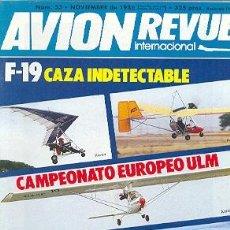 Militaria: AVIREV-53. REVISTA AVION REVUE INTERNACIONAL. NOVIEMBRE DE 1986. Nº 53. Lote 23382514