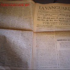 Militaria: DIARIO LA VANGUARDIA AÑO 1939 - ARCO TRIUNFAL PARA EL CONDE CIANO. Lote 20902782