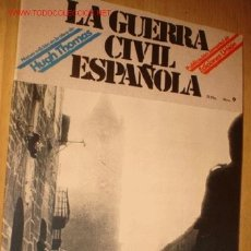 Militaria: REVISTA -LA GUERRA CIVIL ESPAÑOLA- Nº 9. AÑO 1979.. Lote 1716511