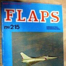 Militaria: REVISTA DE AERONÁUTICA FLAPS, 1978, 38 PÁGINAS.. Lote 1927834