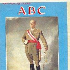 Militaria: VIDA DE FRANCO LOTE FASCICULOS SUELTOS DEL ABC. Lote 13287630
