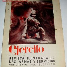 Militaria: EJÉRCITO. REVISTA ILUSTRADA DE LAS ARMAS Y SERVICIOS Nº 77 JUNIO 1946 - MINISTERIO DEL EJÉRCITO. . . Lote 1980428