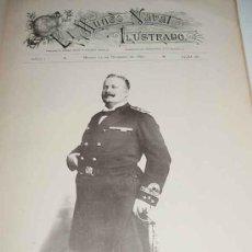 Militaria: REVISTA EL MUNDO NAVAL ILUSTRADO (MADRID, 15 DE DICIEMBRE 1897) - EJEMPLAR NÚMERO 16 DE LA IMPORTANT. Lote 26518029