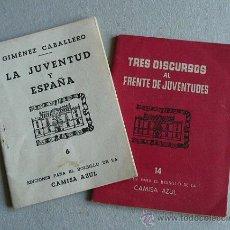 Militaria: EDICIONES DE BOLSILLO CAMISA AZUL DOS. Lote 27438742