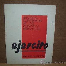 Militaria: REVISTA EJÉRCITO - Nº 13 - FEBRERO 1941 - ILUSTRADA. Lote 27457357