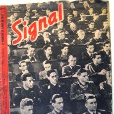 Militaria: REVISTA SIGNAL. JUNIO DE 1942. EN CASTELLANO. Lote 27186900