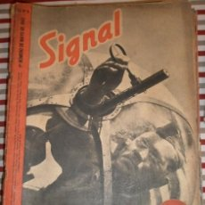 Militaria: REVISTA SIGNAL, 1º NÚMERO DE MAYO DE 1942. Lote 12462857