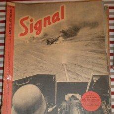 Militaria: REVISTA SIGNAL, 2º NÚMERO DE AGOSTO DE 1941. Lote 12462881