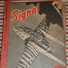 Militaria: REVISTA SIGNAL, 2º NÚMERO DE NOVIEMBRE DE 1943. Lote 12462904
