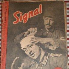 Militaria: REVISTA SIGNAL, 2º NÚMERO DE ABRIL DE 1942. Lote 12462988