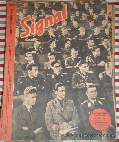 REVISTA SIGNAL, 1º NÚMERO DE JUNIO DE 1942 (Militar - Revistas y Periódicos Militares)