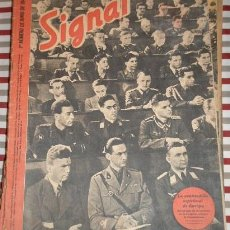 Militaria: REVISTA SIGNAL, 1º NÚMERO DE JUNIO DE 1942. Lote 12463004