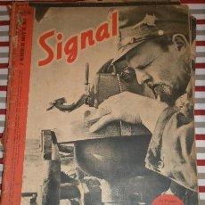Militaria: REVISTA SIGNAL, 2º NÚMERO DE MAYO DE 1942. Lote 12463155