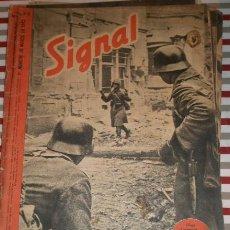 Militaria: REVISTA SIGNAL, 1º NÚMERO DE MARZO DE 1942. Lote 12463232