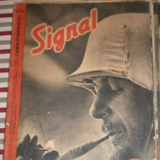 Militaria: REVISTA SIGNAL, 1º NÚMERO DE FEBRERO DE 1942. Lote 12463265
