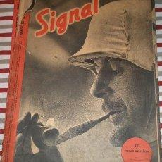Militaria: REVISTA SIGNAL, 1º NÚMERO DE FEBRERO DE 1942. Lote 12463289