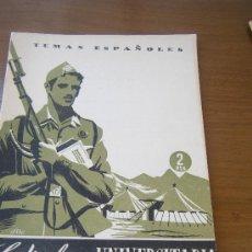 Militaria: REVISTA TEMAS ESPAÑOLES, TÍTULO: LA MILICIA UNIVERSITARIA, NÚMERO 100 (AÑO 1954). Lote 27429237