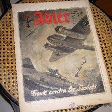 Militaria: REVISTA ALEMANA DE LA LUFTWAFFE - DER ADLER Nº 14. Lote 26318296