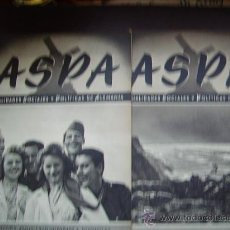 Militaria: LOTE REVISTAS ASPA II GUERRA MUNDIAL DIVISION AZUL . Lote 19229804