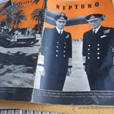 Militaria: REVISTA NEPTUNO EN PORTUGUES - SEGUNDA GUERRA MUNDIAL - PN 21 -- DICIEMBRE 1941 . Lote 13779022