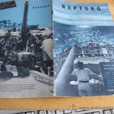 Militaria: REVISTA NEPTUNO EN PORTUGUES - SEGUNDA GUERRA MUNDIAL - PN 13 -----ABRIL 1941 . Lote 13779084