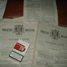 Militaria: BOLETIN OFICIAL DE LA GUARDIA CIVIL. Lote 27504096