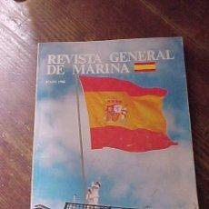 Militaria: REVISTA GENERAL DE MARINA. JULIO 1988. *. Lote 14404610