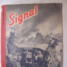 Militaria: SIGNAL Nº SP/22 - REVISTA ALEMANA VERSIÓN ESPAÑOLA - II GUERRA MUNDIAL NOVIEMBRE 1941. Lote 18303470