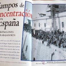 Militaria: REVISTA HISTORIA - NUMERO DEDICADO A LOS CAMPOS DE CONCENTRACION DURANTE LA GUERRA CIVIL - MUY INTER. Lote 27588698